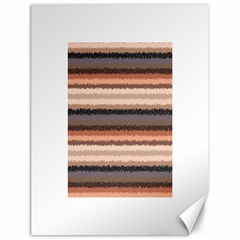 Horizontal Native American Curly Stripes - 4 Canvas 18  x 24  (Unframed)