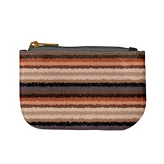 Horizontal Native American Curly Stripes   4 Coin Change Purse