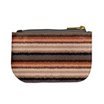 Horizontal Native American Curly Stripes - 4 Coin Change Purse Back
