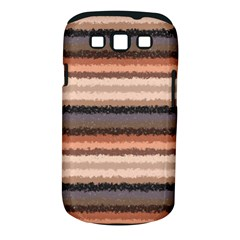 Horizontal Native American Curly Stripes - 4 Samsung Galaxy S III Classic Hardshell Case (PC+Silicone)