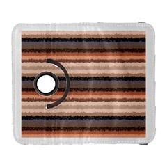 Horizontal Native American Curly Stripes - 4 Samsung Galaxy S  III Flip 360 Case