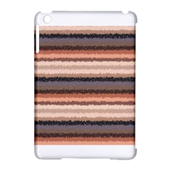 Horizontal Native American Curly Stripes - 4 Apple iPad Mini Hardshell Case (Compatible with Smart Cover)