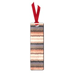Horizontal Native American Curly Stripes   4 Small Bookmark