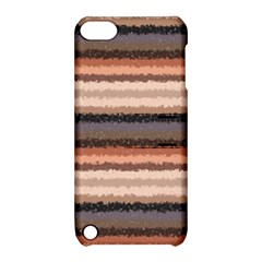Horizontal Native American Curly Stripes   4 Apple Ipod Touch 5 Hardshell Case With Stand
