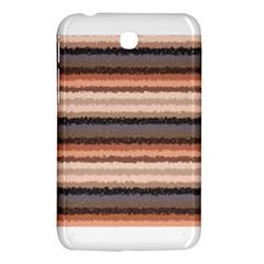 Horizontal Native American Curly Stripes - 4 Samsung Galaxy Tab 3 (7 ) P3200 Hardshell Case