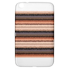 Horizontal Native American Curly Stripes   4 Samsung Galaxy Tab 3 (8 ) T3100 Hardshell Case