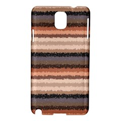 Horizontal Native American Curly Stripes - 4 Samsung Galaxy Note 3 N9005 Hardshell Case