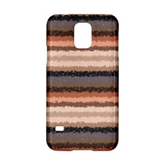 Horizontal Native American Curly Stripes   4 Samsung Galaxy S5 Hardshell Case