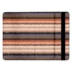 Horizontal Native American Curly Stripes   4 Samsung Galaxy Tab Pro 12 2  Flip Case