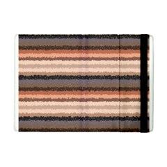 Horizontal Native American Curly Stripes - 4 Apple iPad Mini 2 Flip Case