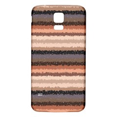 Horizontal Native American Curly Stripes   4 Samsung Galaxy S5 Back Case (white)