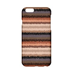 Horizontal Native American Curly Stripes - 4 Apple iPhone 6 Hardshell Case