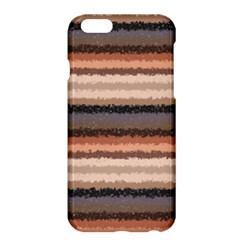 Horizontal Native American Curly Stripes   4 Apple Iphone 6 Plus Hardshell Case