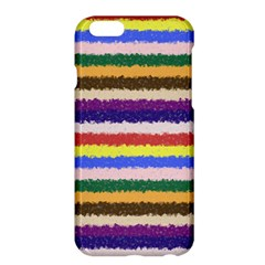 Horizontal Vivid Colors Curly Stripes - 1 Apple iPhone 6 Plus Hardshell Case