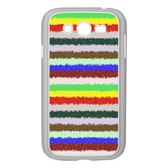 Horizontal Vivid Colors Curly Stripes - 2 Samsung Galaxy Grand DUOS I9082 Case (White)