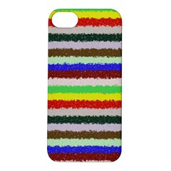 Horizontal Vivid Colors Curly Stripes   2 Apple Iphone 5s Hardshell Case
