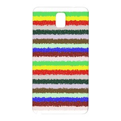 Horizontal Vivid Colors Curly Stripes   2 Samsung Galaxy Note 3 N9005 Hardshell Back Case