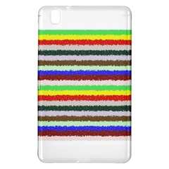 Horizontal Vivid Colors Curly Stripes - 2 Samsung Galaxy Tab Pro 8.4 Hardshell Case