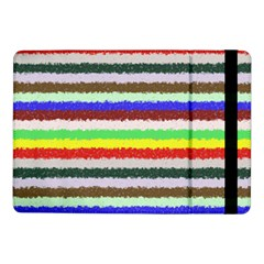 Horizontal Vivid Colors Curly Stripes - 2 Samsung Galaxy Tab Pro 10.1  Flip Case