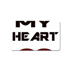 You My Heart Magnet (name Card)