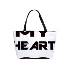 You My Heart Large Shoulder Bag