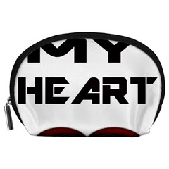 You My Heart Accessory Pouch (Large)