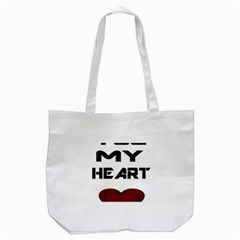 You My Heart Tote Bag (White)