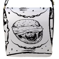 Art 6 Flap Closure Messenger Bag (Small)