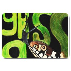Grass Snake Large Door Mat