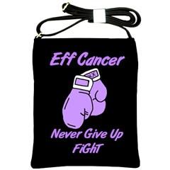 Eff Cancer Shoulder Sling Bag