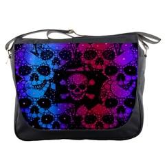 Girly Skull&bone Messenger Bag