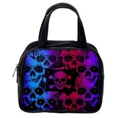Skull&bones Pop Classic Handbag (one Side)