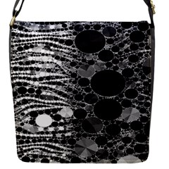 Zebra Print Bling Abstract Removable Flap Cover (small)