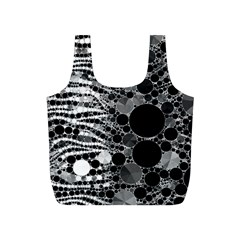 Zebra Print Bling Abstract Full Print Recycle Bag (s)