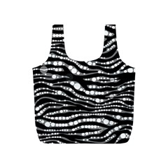 Zebra Pattern  Reusable Bag (S)