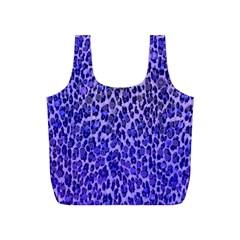 Blue Leopard  Reusable Bag (s)