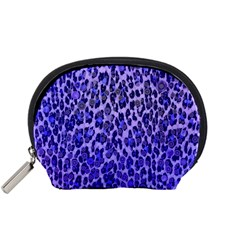 Blue Leopard  Accessory Pouch (small)