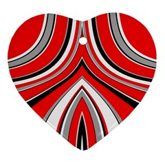 Fantasy Heart Ornament (two Sides)