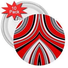 Fantasy 3  Button (10 Pack)