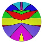 Abstract Magnet 5  (Round) Front