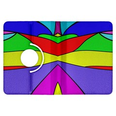 Abstract Kindle Fire Hdx Flip 360 Case