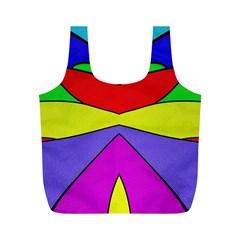 Abstract Reusable Bag (M)