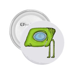 Funny Alien Monster Character 2 25  Button
