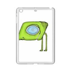 Funny Alien Monster Character Apple iPad Mini 2 Case (White)