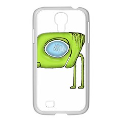 Funny Alien Monster Character Samsung GALAXY S4 I9500/ I9505 Case (White)