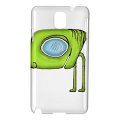 Funny Alien Monster Character Samsung Galaxy Note 3 N9005 Hardshell Case