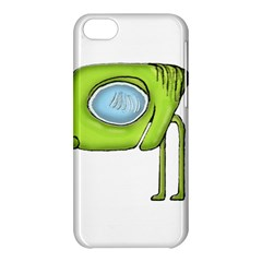Funny Alien Monster Character Apple iPhone 5C Hardshell Case