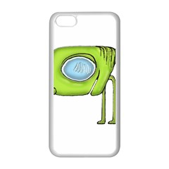 Funny Alien Monster Character Apple iPhone 5C Seamless Case (White)
