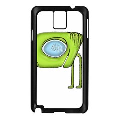 Funny Alien Monster Character Samsung Galaxy Note 3 N9005 Case (Black)