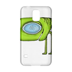 Funny Alien Monster Character Samsung Galaxy S5 Hardshell Case